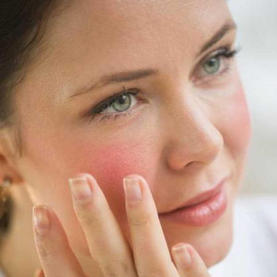 повышенная чувствительность кожи лица