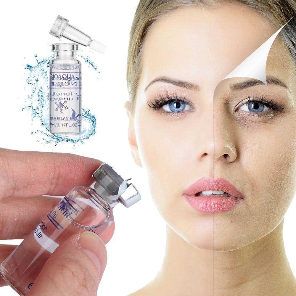 Антивозрастные сыворотки для лица
